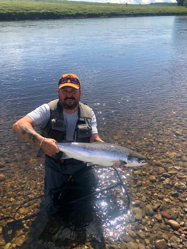 Don Wallace with his 10lbs. fish on the 20th of June 2020