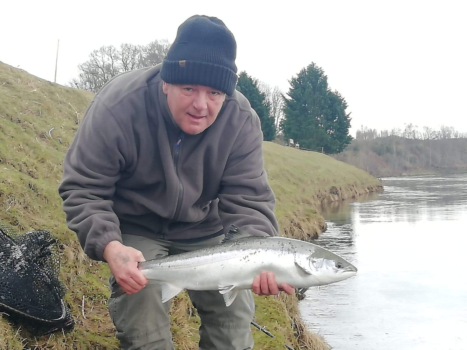John Dewar with his 10lbs. fish on Tuesday 9th March 2021