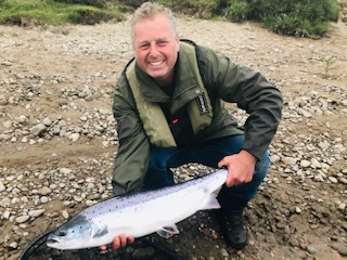 Mark Thomson with his 14lbs. fish on 13 June 2019