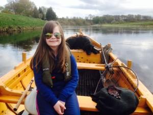 kate in boat 24.04.14